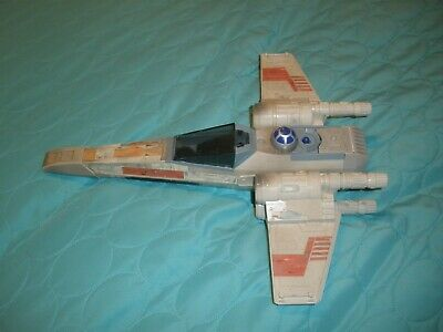 Vintage 1995 Kenner Hasbro Star Wars X-Wing Fighter Jet Ship With R2D2 Tonka Toy