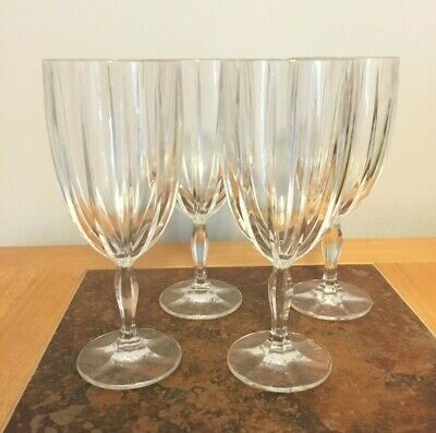 Marquis by Waterford Omega Crystal Iced Beverage Wine Glass Set of 4