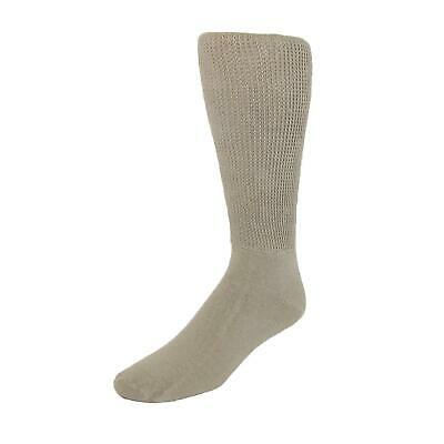 New Extra Wide Sock Co. Men's Cotton Mid Calf Athletic Socks
