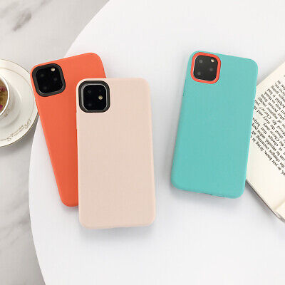 Pretty Solid Color Ultra Thin Soft Case Cover For iphone 11 Pro Max XR 7 8 Plus