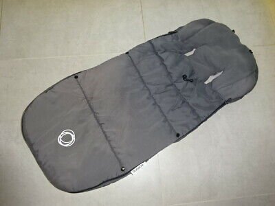 Bugaboo Footmuff/Cosytoes Velcro Toggled Grey fit Cameleon Gecko Frog Bee Donkey