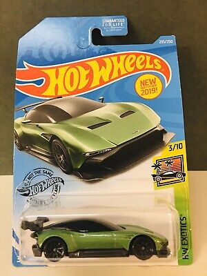 Toys Hobbies 2019 Hot Wheels 235 Green Aston Martin Vulcan With Black Wing Contemporary Manufacture