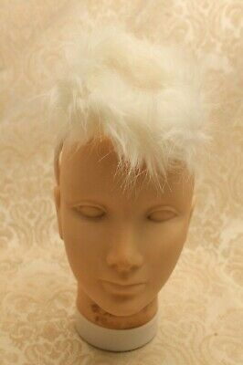 White Angel Halo with FAKE FUR Feathers