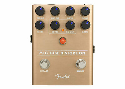 Fender MTG Tube Distortion Pedal GENTLY USED