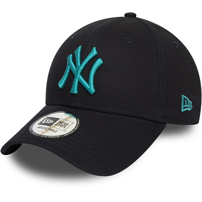 New Era New York Yankees Baseball Cap.9Forty Mlb Navy League Essential Hat 9W2