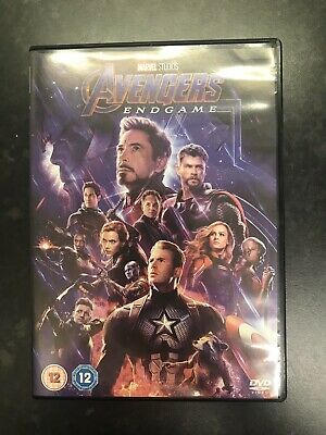 Avengers Endgame DVD, Like New - Watched Once