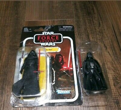 Hasbro Star Wars The Force Awakens Vintage Collection Kylo Ren And Darth Vader
