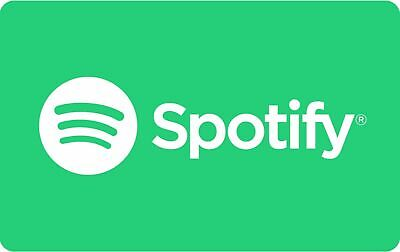 SPOTIFY Gift card 10 usd, deliver by message, available claim USA only