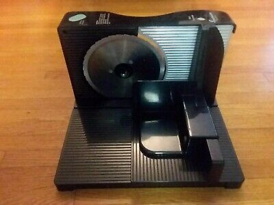Toastmaster Electric Food Slicer Model 6121 Meat / Cheese