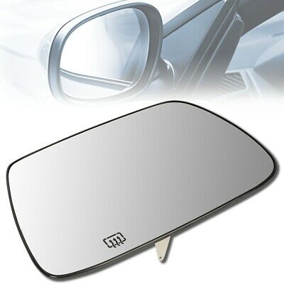 Fits 99-04 Grand Cherokee Heated Right Pass Convex Mirror Glass Lens w//Silicone