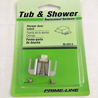 Nylon Tip Prime-Line 1932 Shower Door Catch Stainless Steel Prime-Line Products