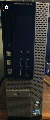 Dell OptiPlex 9010 SFF  i7-3770 8GB RAM 120gig ssd HD W-10 (Pro)