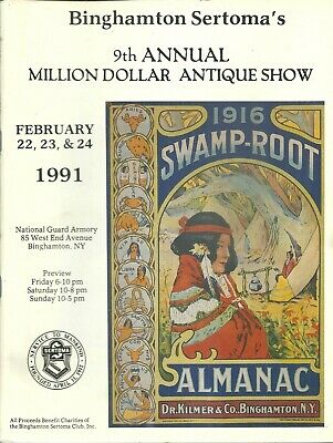 Dr. Kilmer's Swamp Root, Antique  Show Collection, Binghamton, N.y.-1991