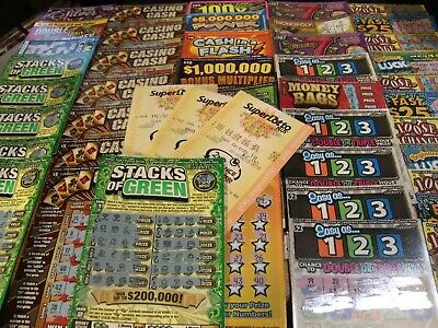 80~$Mixed$ California Lottery Scratchers~Second Chance~Free Shipping!