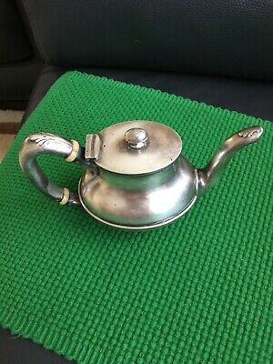 Vintage Reed & Barton Teapot Silver Soldered #355