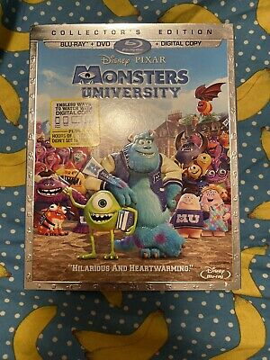 Monsters University Collector's Edition BluRay And DVD, W/Slipcover No Digital