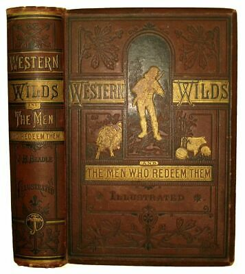 INDIAN WAR Custer OLD WEST 1878 RAILROAD Pioneer CALIFORNIA Mormons ILLUSTRATED