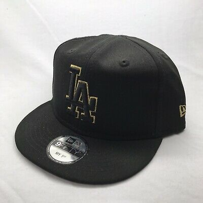 My First New Era Toddler 9Fifty Snapback LA Black Gold
