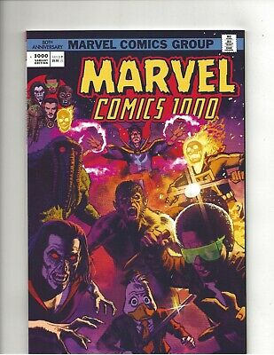 Marvel Comics #1000 Greg Smallwood Variant Cover very fine+ (VF+) condition