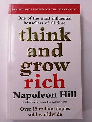 THINK AND GROW RICH by Napoleon Hill (English) Paperback Book