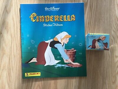 CINDERELLA STICKER ALBUM COMPLETE WITH ALL STICKERS (Not Inserted) By PANINI
