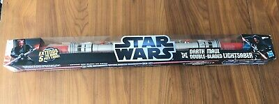 Star Wars~Darth Maul Double Bladed Lightsaber 5 ft~Combat/Play/Collectible~New