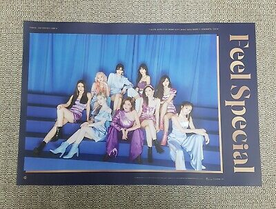 K-POP TWICE 8th Mini Album [Feel Special] B Ver. OFFICIAL POSTER -NEW-