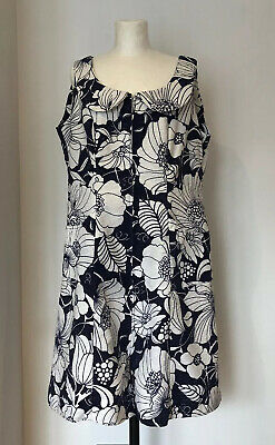 Vintage French Ladies Summer Holiday Dress Swimming Cover Up 1960s Janine Robin