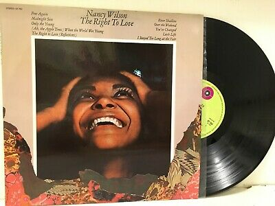 Nancy Wilson LP The Right to Love