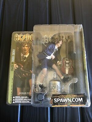 Rare,2001,Angus Young of AC/DC,Hells Bells Figurine Set-Up,still in Box.(New).