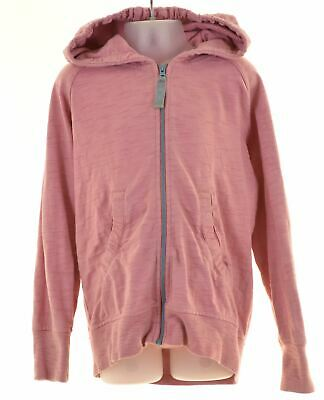 LITTLE JOULE Girls Hoodie Sweater 6-7 Years Pink Cotton  MV58