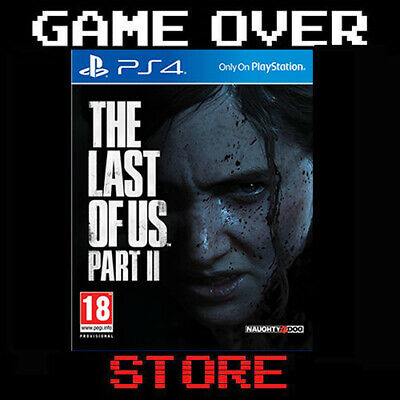 THE LAST OF US 2 Part II Playstation 4 PS4 Nuovo Italiano