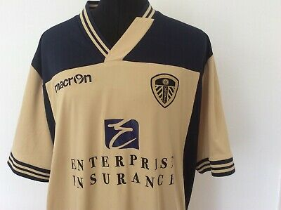 Leeds United 2013/14 Away shirt by Macron size XL.