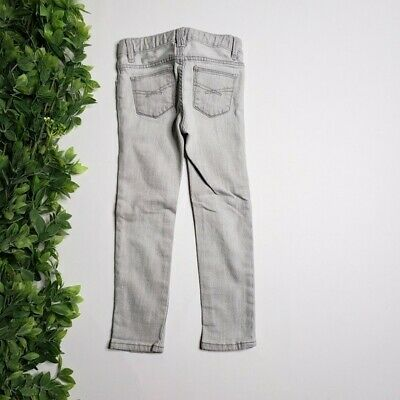 GAP 1969 Kids Girl Sparkle Star Skinny Jeans Gray Size 4