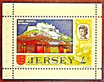 Jersey. 1969. Pre Decimal Definitive. 4d Booklet Stamp. S.G.19a. MNH.