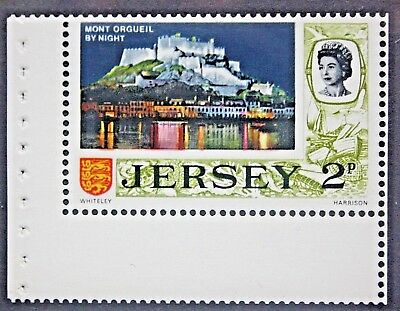 Jersey. 1971. Decimal Definitive. 2p Booklet Stamp. S.G.45a. MNH.