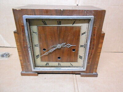 vintage Enfield westminster chimes clock Art Deco