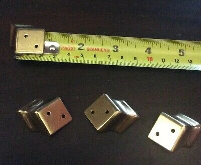 Good Set Brass Bracket Clock Feet--(Og)