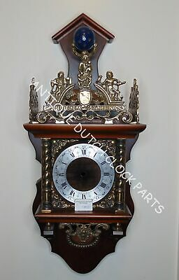 Replacement Case With All Ornaments And Dial For Dutch Zaandam Wall Clock