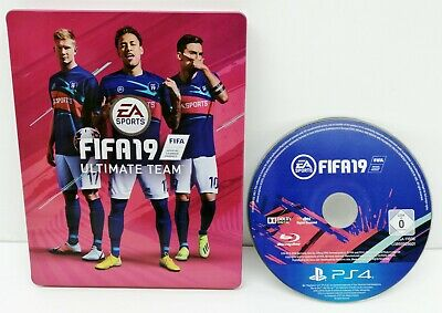 Fifa 19 - Sony Playstation 4 Game In Steelbook Case - Ps4