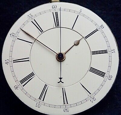 Thomas Coupe Rawtenstall  Centre Seconds Fusee Pocket Watch Movement