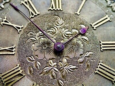 Lovely Engraved Dial Pocket Watch Movement circa 1875 34.55mm