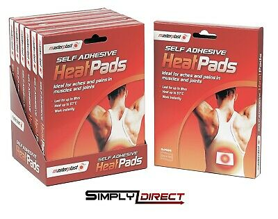 Self Adhesive Heat Pads Pack Muscle Back Joint Pain Relief Instant