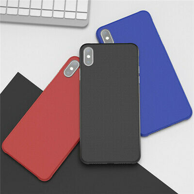 Solid Color Matte Borderless Ultra Thin Case Cover For iphone 11 Pro Max 6 Plus