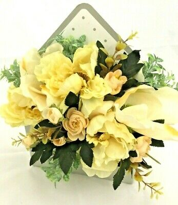 Artificial Flowers Bouquet in envelope box Birthday Occasions Decor Gift