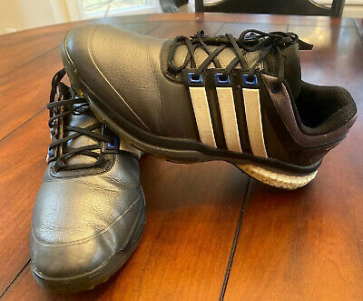Adidas Boost Men's Metallic Gray Athletic Style Golf Shoes-Size 7