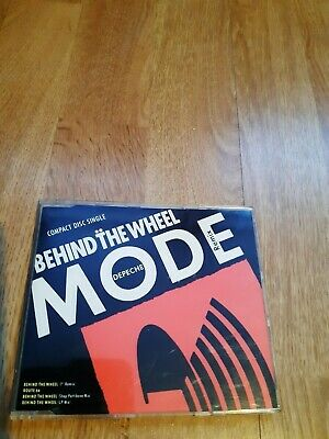 Depeche Mode Behind The Wheel Single Cd