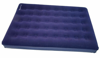 Eurotrail 2 Persons Inflatable Double High Raised Air Bed Mattress Airbed