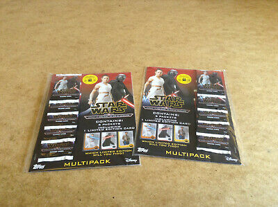 Star Wars Trading Card Multi Pack Journey To Star Wars The Rise Of Skywalker