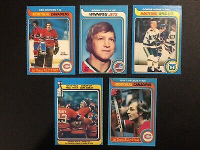 1979-80 opc complete hockey card set less Gretzky